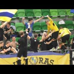 Embedded thumbnail for Futsalosaink hatalmas ünneplése a Fradi-pályán - ősztől irány az NB I!